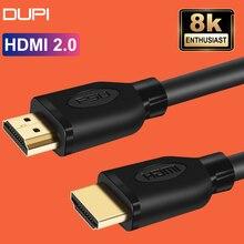 HDMI кабель 4K, позолоченный, 60 Гц, высокоскоростной адаптер для видео, аудио, HDTV, XBOX, сплиттер, переключатель, удлинитель кабеля, HDMI 2,0