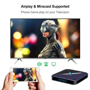Image 4 - VONTAR A95X F3 RGB Licht TV Box Android 9,0 4GB 64GB 32GB Amlogic S905X3 8K 60fps wifi Media Player A95XF3 X3 2GB16GB TVBOX