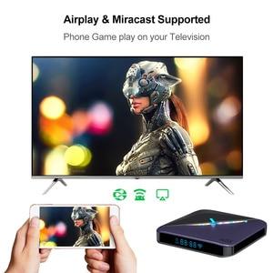 Image 4 - VONTAR A95X F3 światło RGB TV, pudełko z systemem Android 9.0 4GB 64GB 32GB procesor Amlogic S905X3 8K 60fps Wifi odtwarzacz multimedialny A95XF3 X3 2GB16GB TVBOX