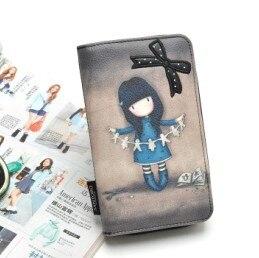 Cartoon pattern children's wallet card bag coin purse