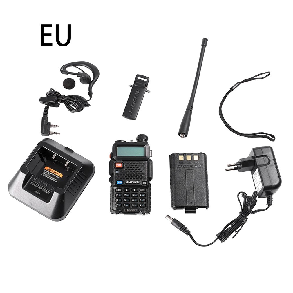 Baofeng Wireless Walkie-Talkie Baofeng Fm Uv Handheld Hand-Held Civilian High-Power Outdoor Walkie-Talkie