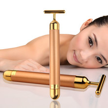 Massager-Stick Skin-Care-Tools Vibration Facial-Roller Face-Lifting Beauty-Bar Anti-Wrinkle