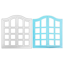 Окно металлический Трафаретный вырубной штамп Скрапбукинг декоративные