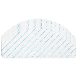 100 bloco descartável mop almofadas compatíveis para ecovacs deebot ozmo t8 aivi robô aspirador de pó