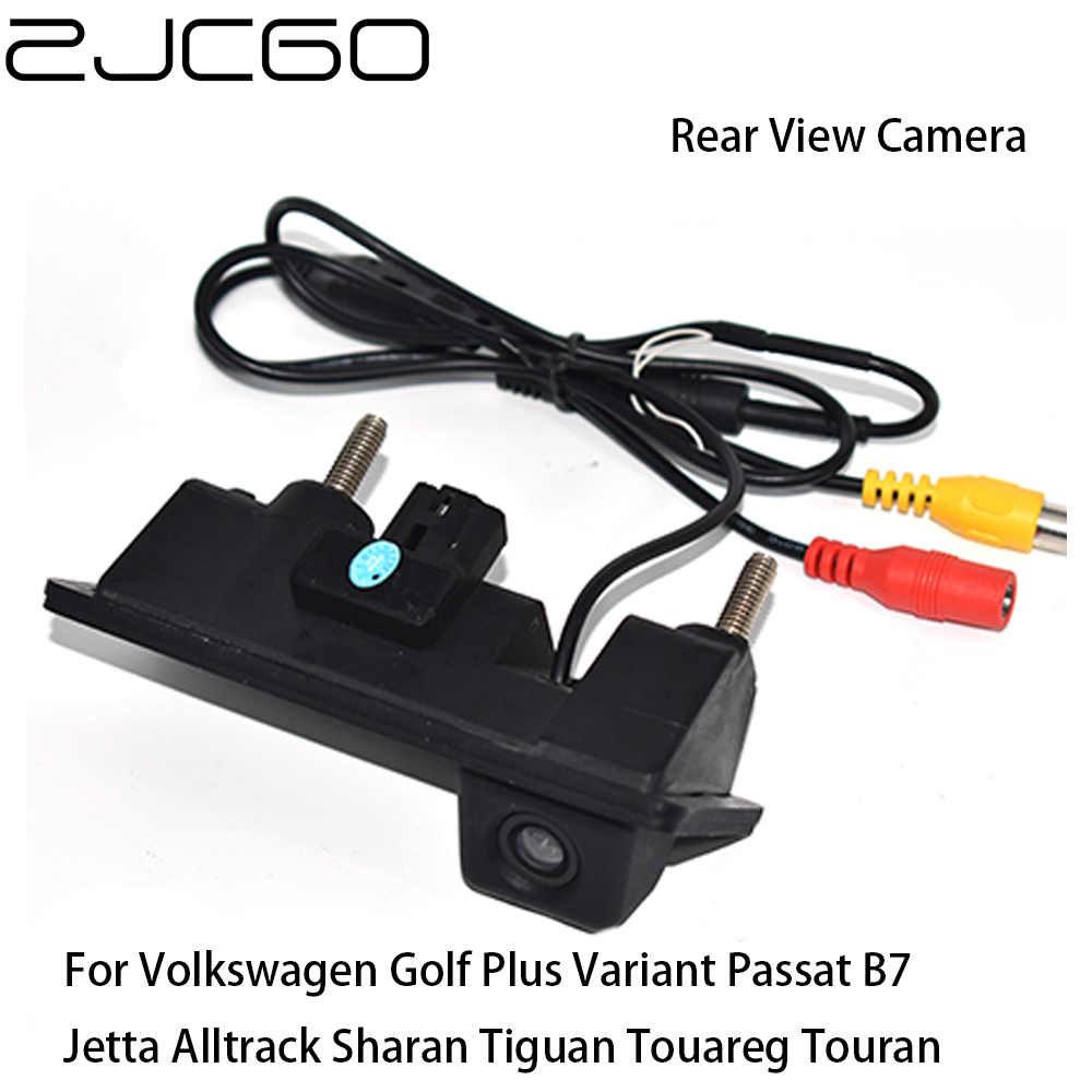 ZJCGO Car Rear View Reverse Back Up Parking Trunk Handle Camera for Volkswagen Golf Plus Variant Passat B7 Sharan Tiguan Touran|Vehicle Camera| - AliExpress