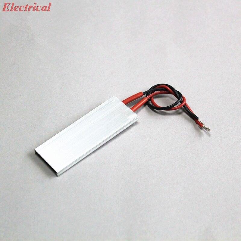 1pc 80*28.5mm PTC Heating Element Constant Temperature Aluminum Shell Heater 220V 60C 80C 100C 120C 150C 170C