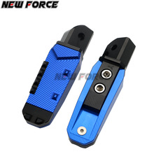 Ninja 300 CNC Motorcycle Rear Footrests Foot pegs Passenger Pedal For Kawasaki ZX-12R ZRX1100 KLE650 ZZR1200 EX650