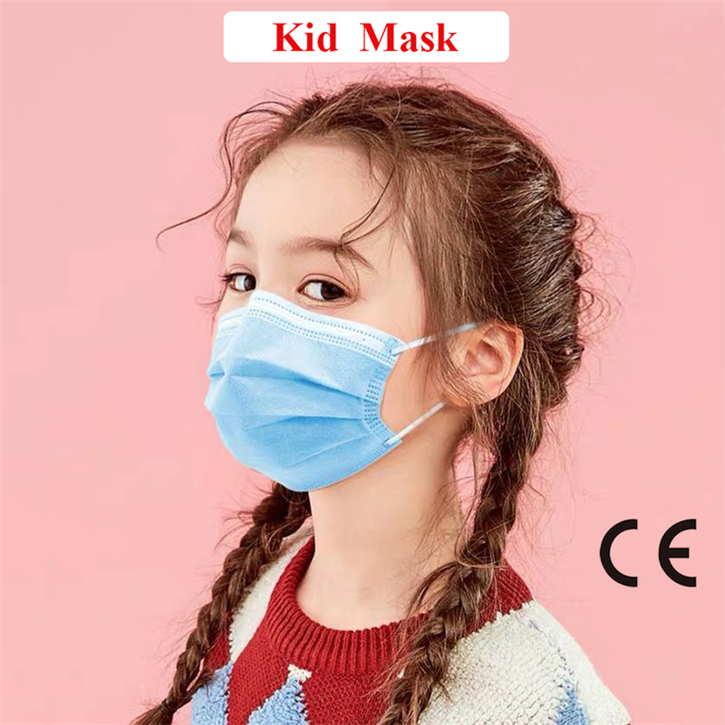 Professional Kangmin 3 Layer Disposable Mouth Mask Safe And Breathable Dust Protection Mask