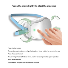 4 Layers Electric Mask Respirator Dustproof Face Mask Anti-haze Face Mouth Mask USB Rechargeable Protection as N95 KN95 Mask