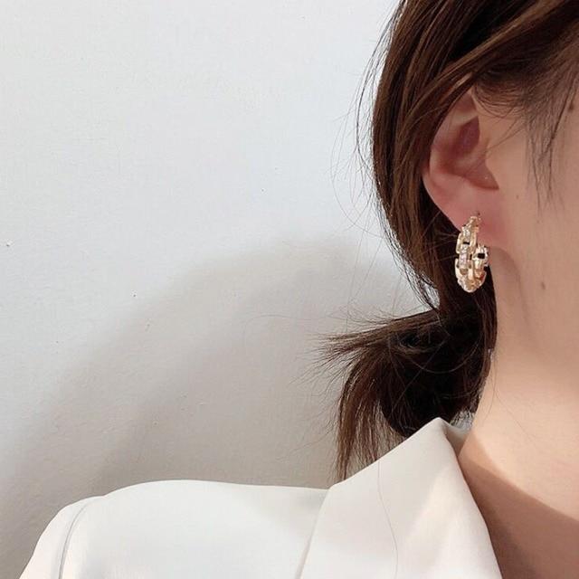 2021 New Hot Selling Zircon Earrings Crystal Earrings 2