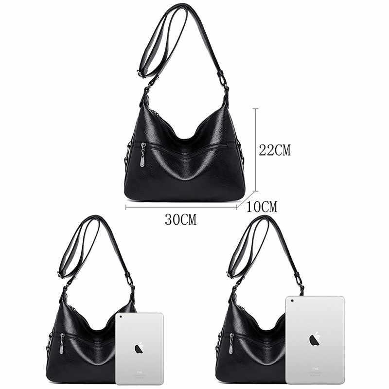 Luksusowe torebki damskie torebki projektant miękka skóra torby Crossbody dla kobiet torba na ramię moda kobieta Messenger torby Sac A Main