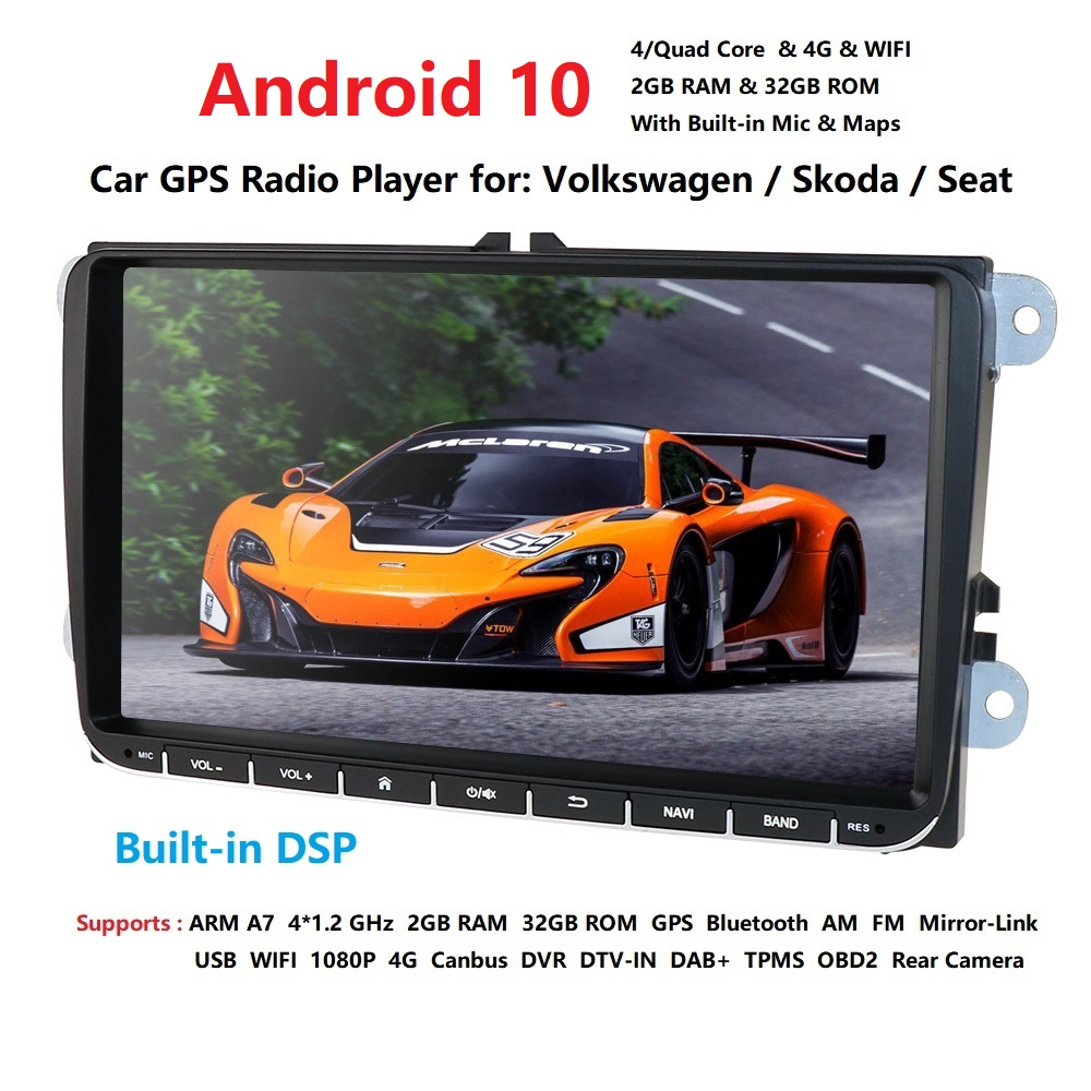 <font><b>Android</b></font> 10.0 Car DVD Player 9
