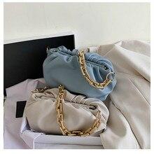 Female Handbag Clutch-Bag Shoulder-Bag Designer All-Match Women New-Fashion Cloud Hobos