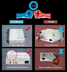 Image 5 - Radio con GPS para coche, radio con reproductor DVD, android 10, 1DIN, 7 pulgadas, HD, Bluetooth, USB, cámara trasera, unidad principal de coche, ESTÉREO