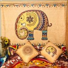 Vintage Ethnic Style Tapestry Wall Hanging Blanket Bohemian Beach Mat Print Mandala Indian Thick Yoga Mat Home Decor Art Carpet mandala floral indian scarf bohemian women flower printed winter scarves ethnic shawls exotic boho blanket pareo beach sarongs