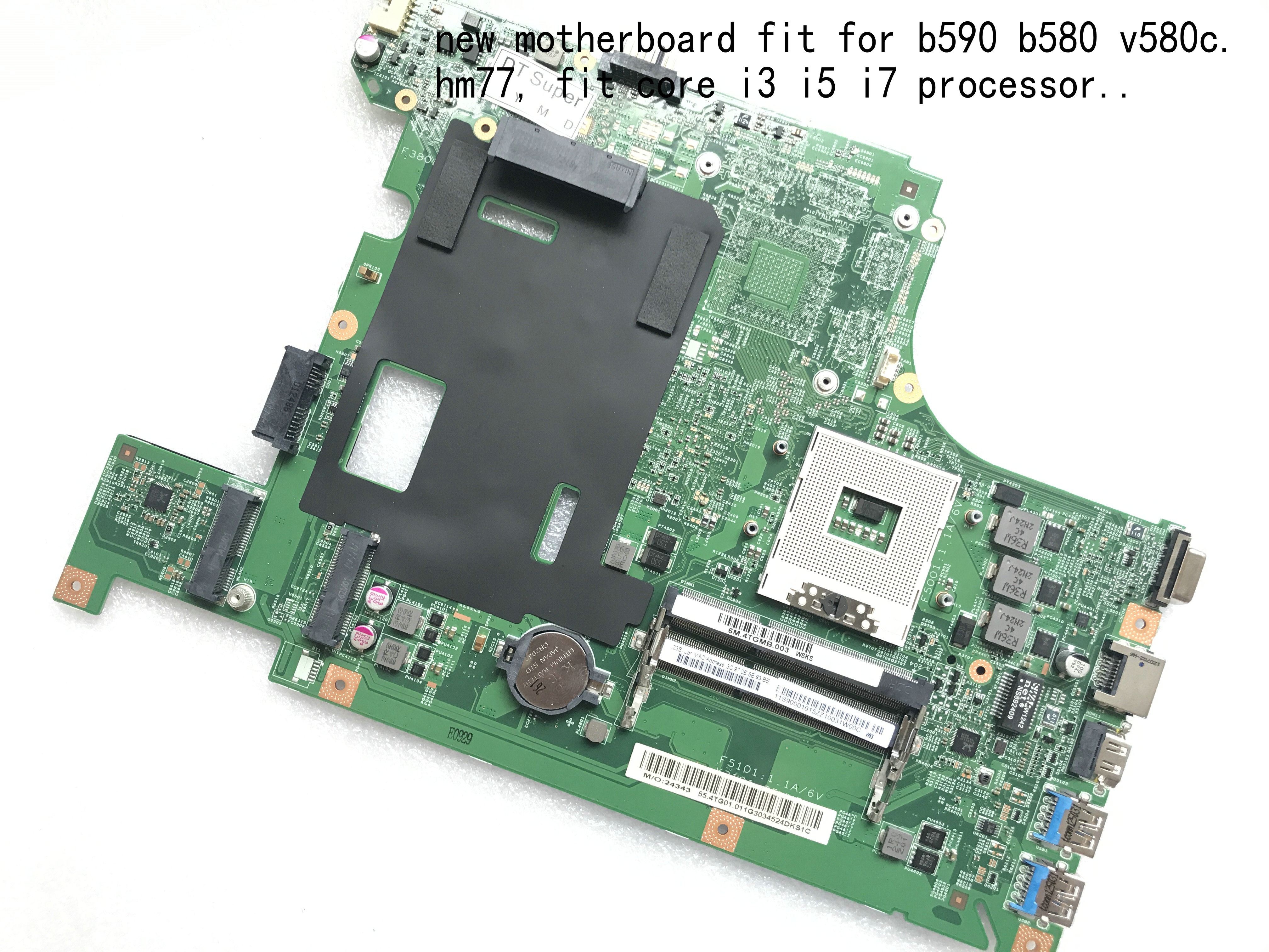 KEFU AVAILABLE , New Item. LA58 MB 11273-1 48.4TE01.011 , For LENOVO B590 B580 V580C Notebook Laptop Motherboard (qualified Ok)