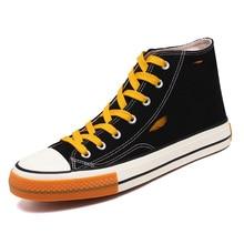 Comfortable High Top brand Canvas Men sneaker shoes