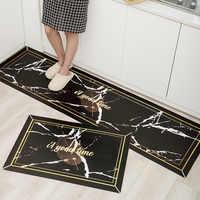 Dirtyproof la alfombra de cocina aceite de cocina de PVC alfombra antideslizante cuarto de baño alfombra felpudo para entrada del hogar sala de estar dormitorio alfombras de piso