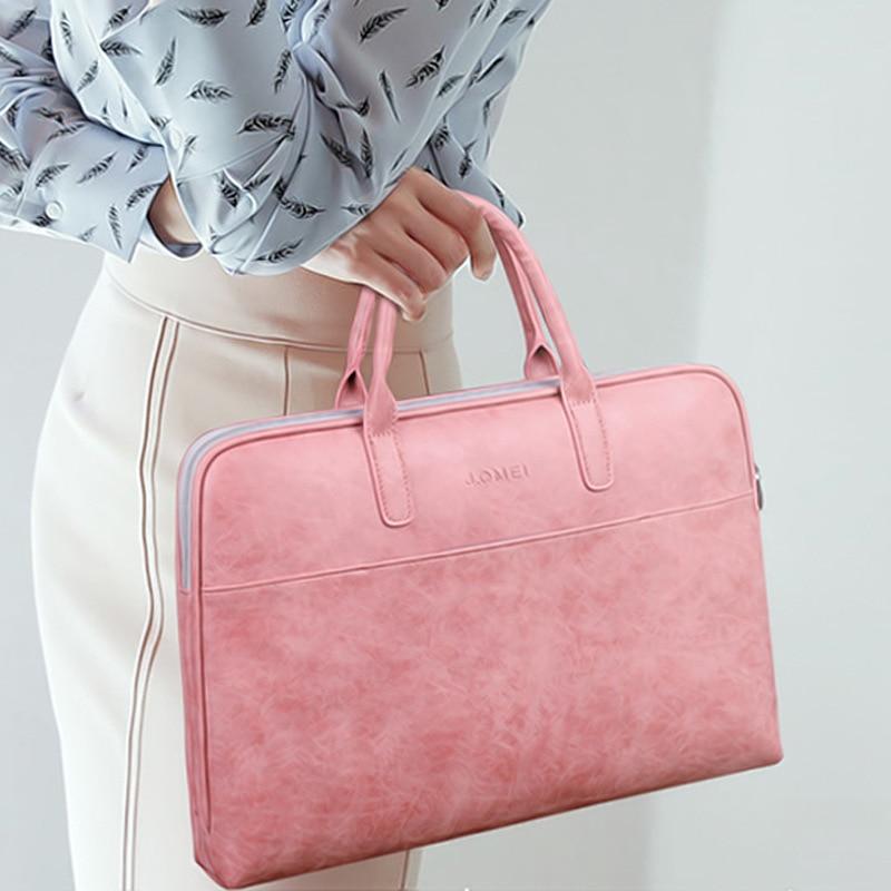 Maletin Mujer 13 14 15 15.6 Inch Laptop Bag Women Mala Computador Senhora Business Bag For Women Office  Notebook Tablet Bag