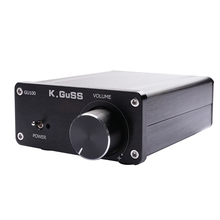 Kguss Gu100 Mini Hifi Audio Amplifier Class D Audio Digital Power Amplifier Tpa3116 Advanced 2x100W Home Audio Enclosure Amp цена