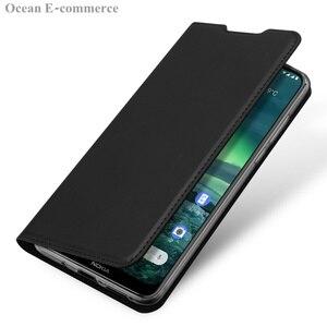 Image 5 - DUX DUCIS peau tactile étui en cuir pour Nokia 2.3 luxe Ultra mince fente pour carte support portefeuille à rabat housse pour Nokia 2.3 coque
