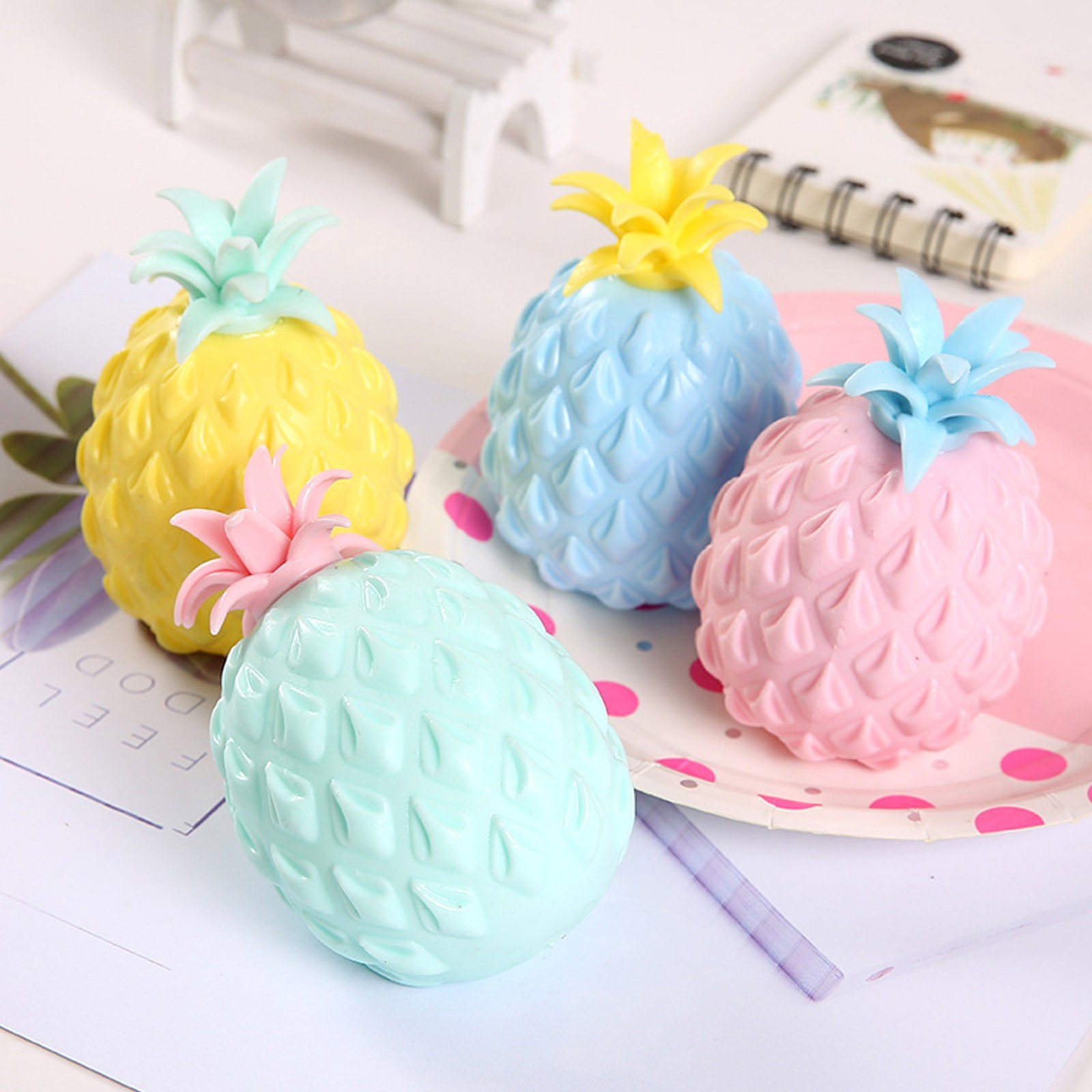 Novel Simulation Pineapple Decompression Toy Adult Children's Fidget Toys Office Pressure Release Toy ?????????? ??? ??? img4