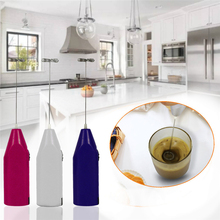 Electric Milk Frother Drink Foamer Whisk Mixer Stirrer Coffee Eggbeater Kitchen цена и фото