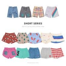 Crianças shorts de verão bobo 2021 bc novos meninos bonitos shorts casuais crianças roupas meninas shorts