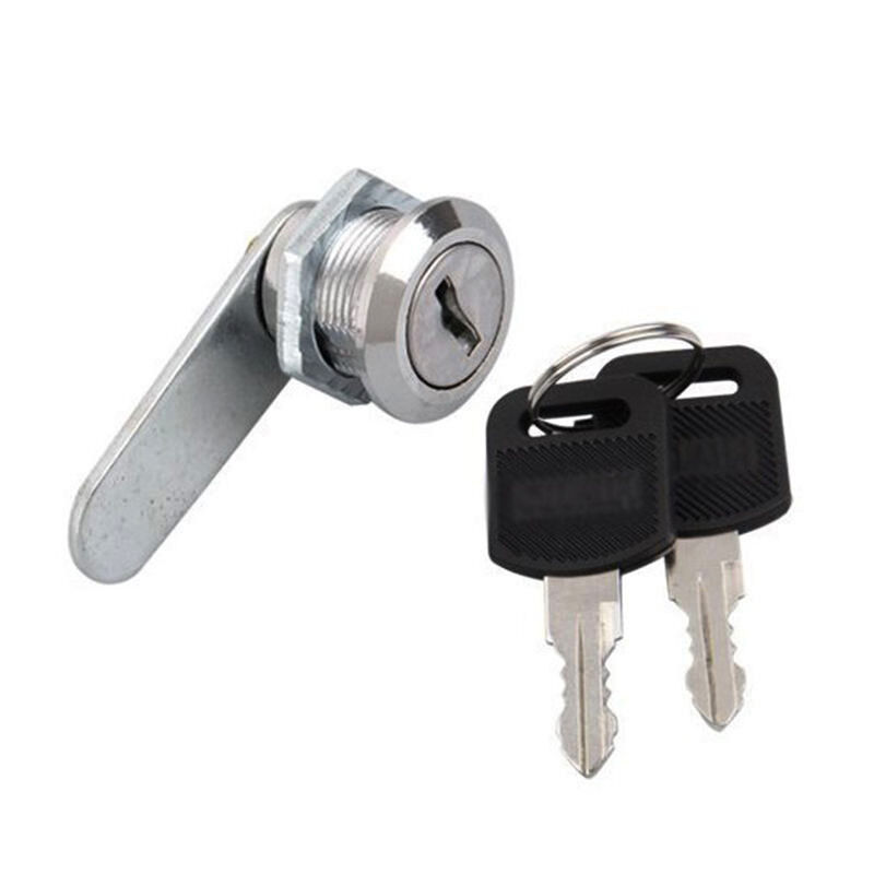 Security Mail Box Lock With 2 Keys Mailbox Mail Letter Box Pro Stainless Steel Drawer Closet Lock