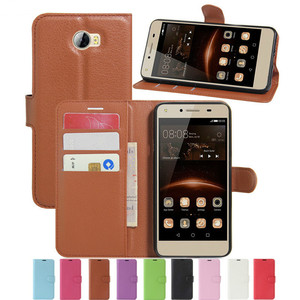 Wallet Case for Huawei Y5II Huawey Y5 II 2 Y 5ii Lte CUN U29 CUN-U29 CUN-L21 CUN-L01 Y6 Elite Flip Leather Cover Phone Case TPU