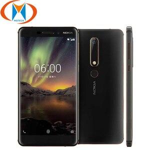 Новый оригинальный Nokia 6,1 TA-1050 глобальный мобильный телефон Snapdragon 630 Octa core 5,5