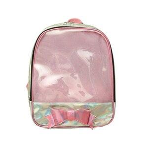 Image 5 - Sale 2020 New Ita Bag 여성용 Clear Backpack 여성용 투명 배낭 Lovely Teenage Girls 배낭 Lolita Bag Ita Bag