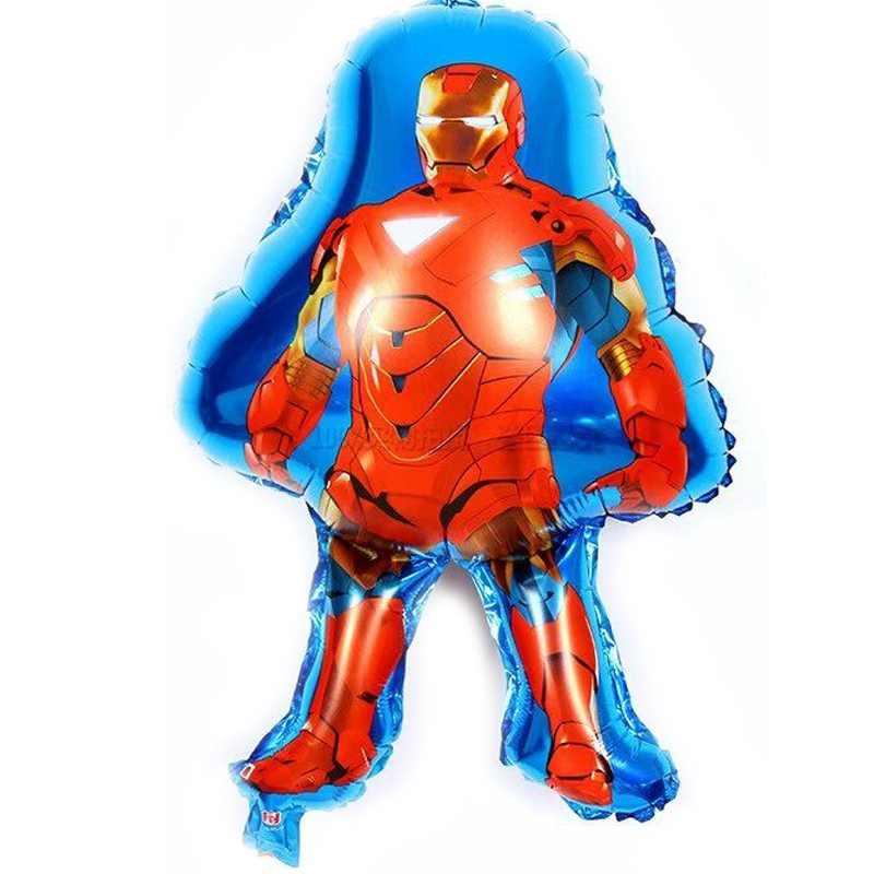 3 stücke Avengers luftballons clossic spielzeug Ironman helium ballons für kind geburtstag dekoration ironman ballon
