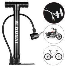 Pompe à vélo pompe à Air manuelle gonfleur VTT pompe à vélo de route Portable Mini pompe à Air bleu balle jouet pneu Valve pompe