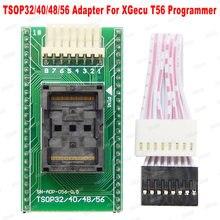 100% original novo tsop56/48/40/32 adaptador para xgecu t56 programador tsop56 tsop48 tsop40 tsop32 adaptador para t56 programador