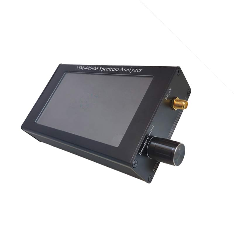 Image 4 - Портативный анализатор спектра 35 м 4400 МГц генератор сигналов анализатор спектра с 4,3 дюйма дисплей TN88Анализаторы спектра    АлиЭкспресс