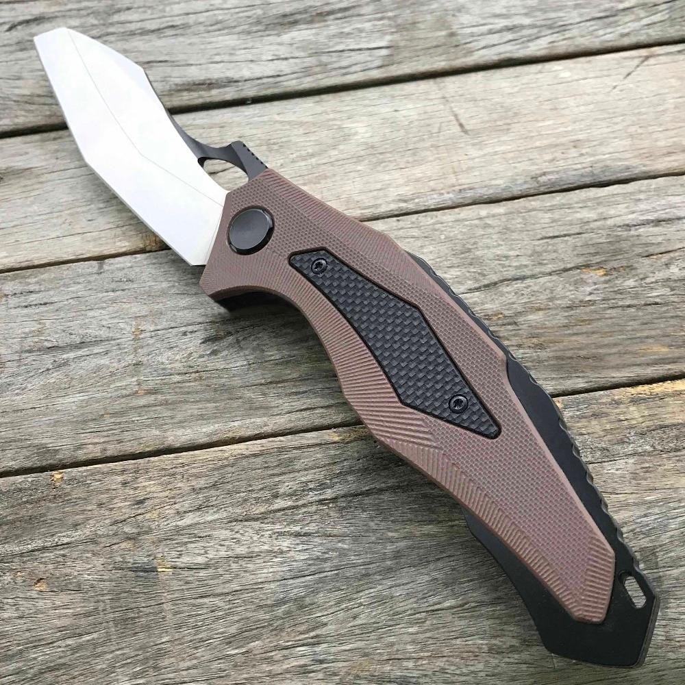 LDT 0427 skládací nůž CTS XHP Blade G10 rukojeť vojenské - Ruční nářadí - Fotografie 3