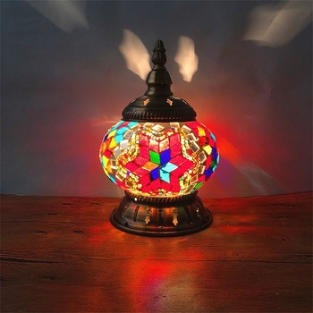 style restoring ancient ways small night lamp restaurant cafe bar Turkey adornment of bedroom the head of a bed lamp