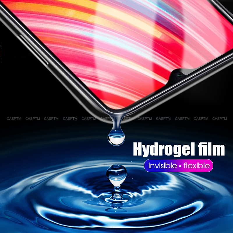 Transparent Full Cover Screen Protective Front Films For Xiaomi <font><b>Redmi</b></font> Note <font><b>8</b></font> Pro Soft <font><b>Hydrogel</b></font> Film For Xiaomi Mi6 Mi6X Mix3 image