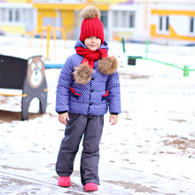 Girls  Winter Coat Hooded Polka Dot animal design Puffer Jacket kid girl down jacket wintercoat girl  for toddlers children D20
