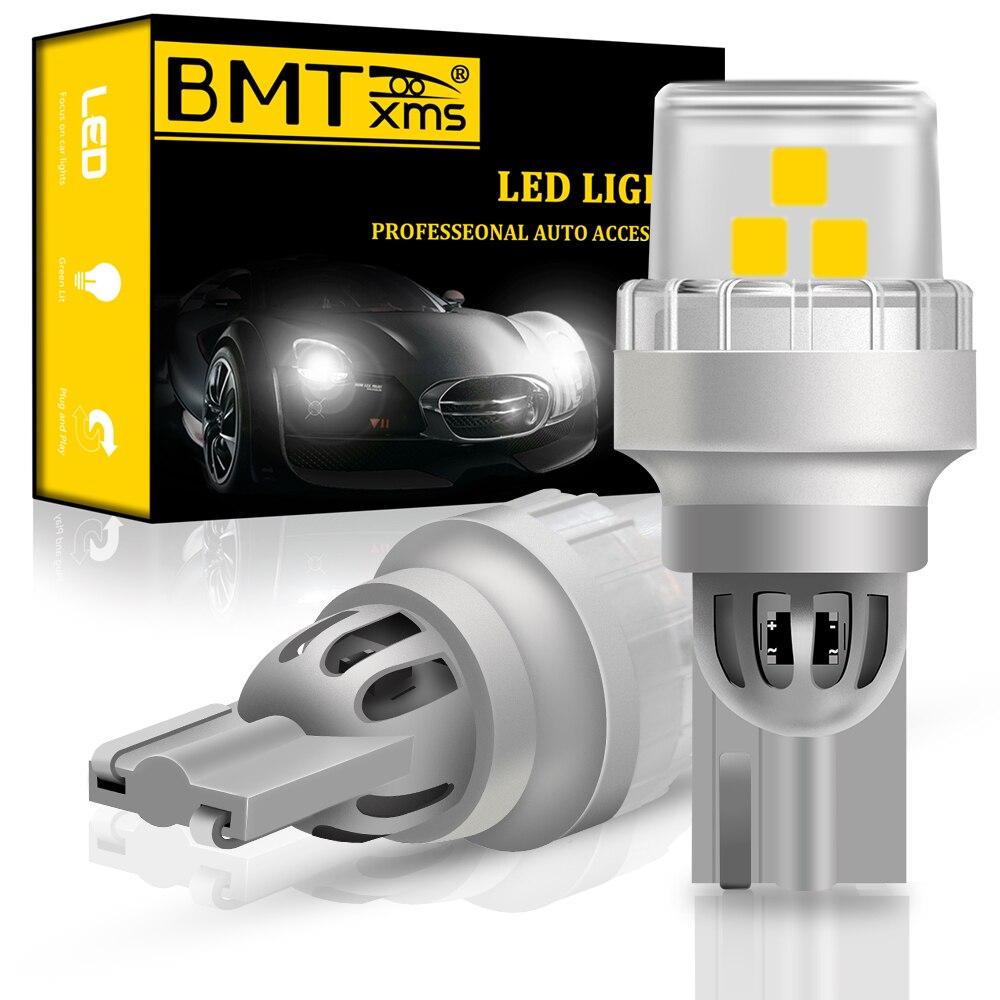 BMTxms Новый 2x W16W T15 светодиодный лампы 2835 SMD Canbus OBC безошибочный Автомобильный светодиодный светильник 921 912 лампы авто лампа заднего хода Белый