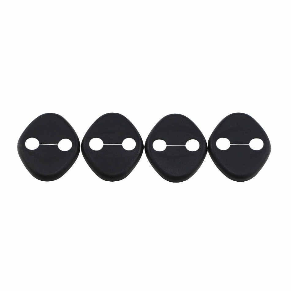 Abs 車のドアロックカバードアストッパー保護カバー起亜リオ K2 魂 2012 - 2015 hyundai solaris verna