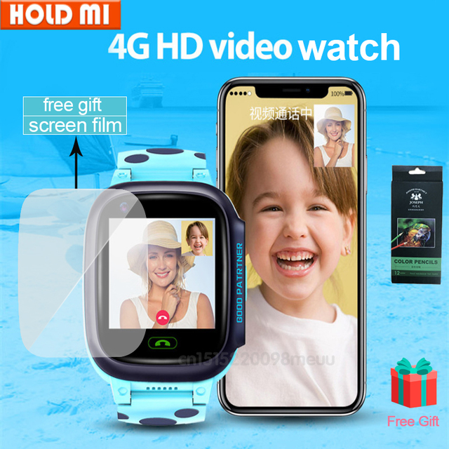 4G ילדים חכם שעון IP67 עמיד למים Smartwatch GPS Wifi גשש מצלמה שיחת וידאו עבור תינוק Y95 PK A36E