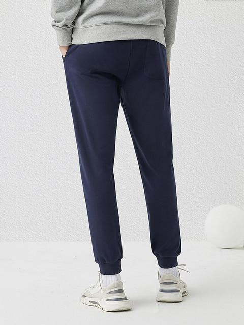 Pioneer Camp 2020 Spring New Jogger Pants Men 100%cotton Drawstring Comfortable Elastic Waist Sweatpants AZZ0107025 38