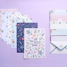 6 PCS/Lot Postcard Letter Stationery Paper Mini Envelope Vintage Envelope  Envelopes for Invitations  Small Gifts  Cute Envelop