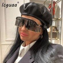 Новинка 2019 новинка трендовые женские солнцезащитные очки для