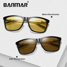 BANMAR Photochromic Sunglasses Men Polarized Aluminum Chameleon Glasses Driving Shades Sun Male Oculos Gafas Lentes