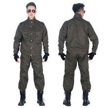 Uniforme militar de las Fuerzas Especiales del Ejército para hombre, ropa de combate, soldado, ropa de trabajo para adulto, conjunto de pantalón
