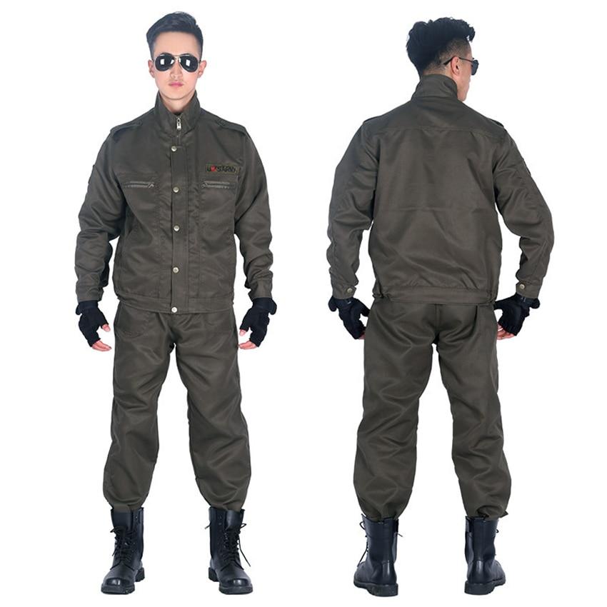Uniforme militar ejército táctico Fuerzas Especiales ropa hombres camisa de combate soldado sólido adulto ropa de trabajo conjunto de pantalón