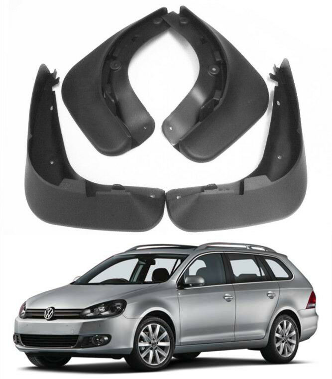 Mud Flaps Mud Guards Fit For <font><b>VW</b></font> Jetta <font><b>Sportwagen</b></font> Golf 6 Mk6 Variant Wagon Estate 2009 2010 2011 2012MudFlaps FrontRear Mudguards image